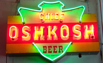 Chief Oshkosh Beer
