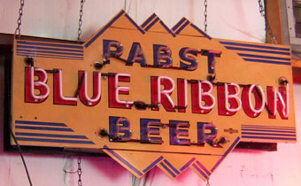 Pabst Blue Ribbon (Yellow)